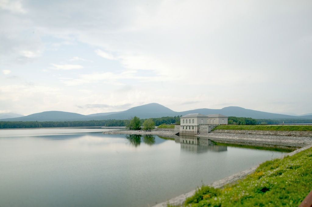 F1AV0707-734862 Ashokan Reservoir, Ulster County, NY