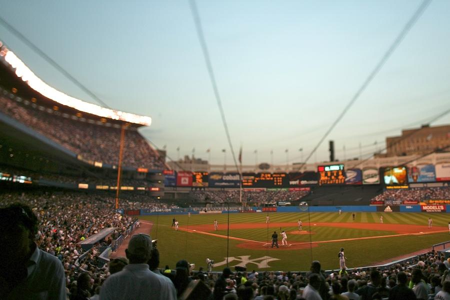 F1AV6169 Yankee Stadium, The Bronx tilt-shift nyc new york city