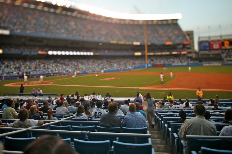 f1av61651 Yankee Stadium, The Bronx tilt-shift nyc new york city