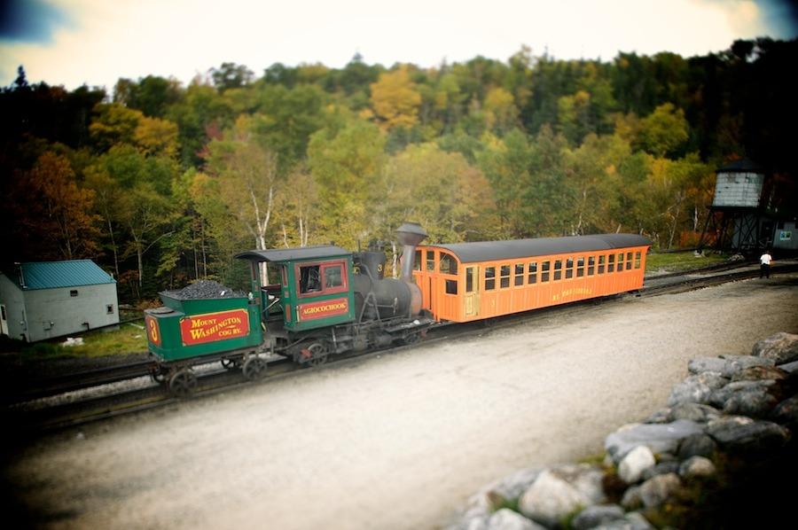 f1av1907 Mt. Washington Railroad, N.H. new hampshire