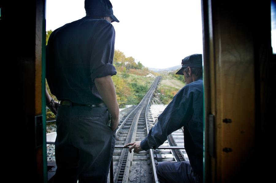 f1av1950 Mt. Washington Railroad, N.H. new hampshire
