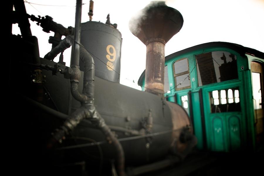 f1av2042 Mt. Washington Railroad, N.H. new hampshire