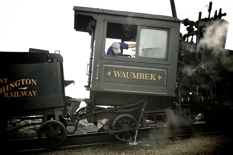 f1av2076 Mt. Washington Railroad, N.H. new hampshire