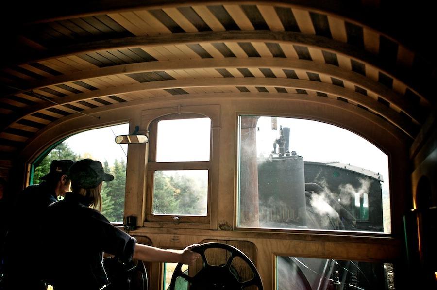 f1av2120 Mt. Washington Railroad, N.H. new hampshire