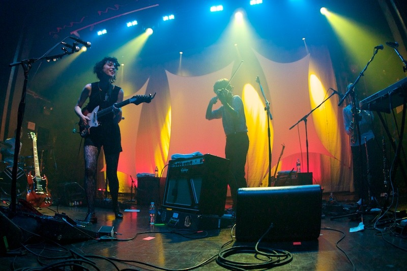 st-vincent-annie-clark-live-photo-2 Annie Clark as St. Vincent webster hall st vincent bowery presents annie clark