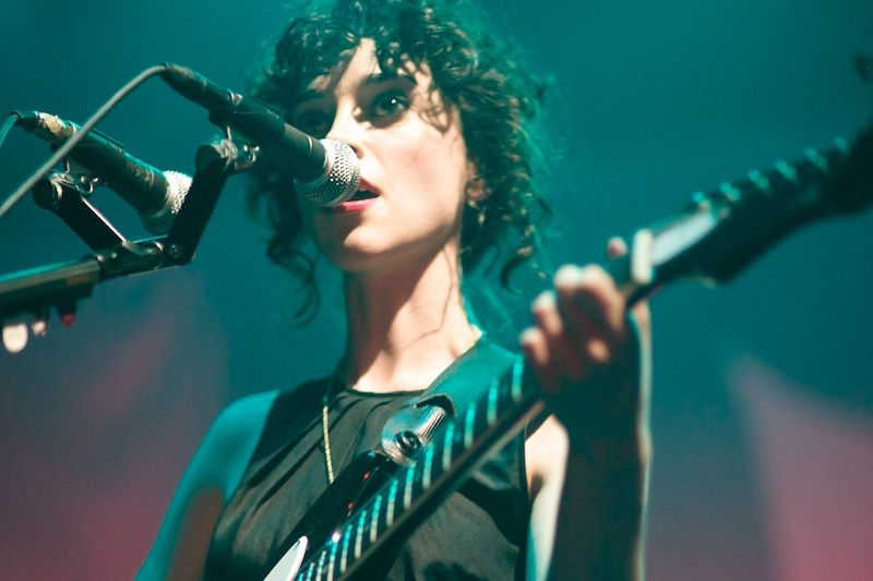 st-vincent-annie-clark-live-photo-4 Annie Clark as St. Vincent webster hall st vincent bowery presents annie clark