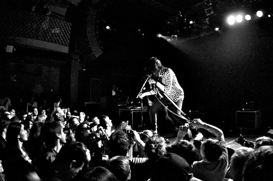the-kills-live-4 The Kills at MHWB the kills music hall of williamsburg jamie hince bowery presents alison mosshart