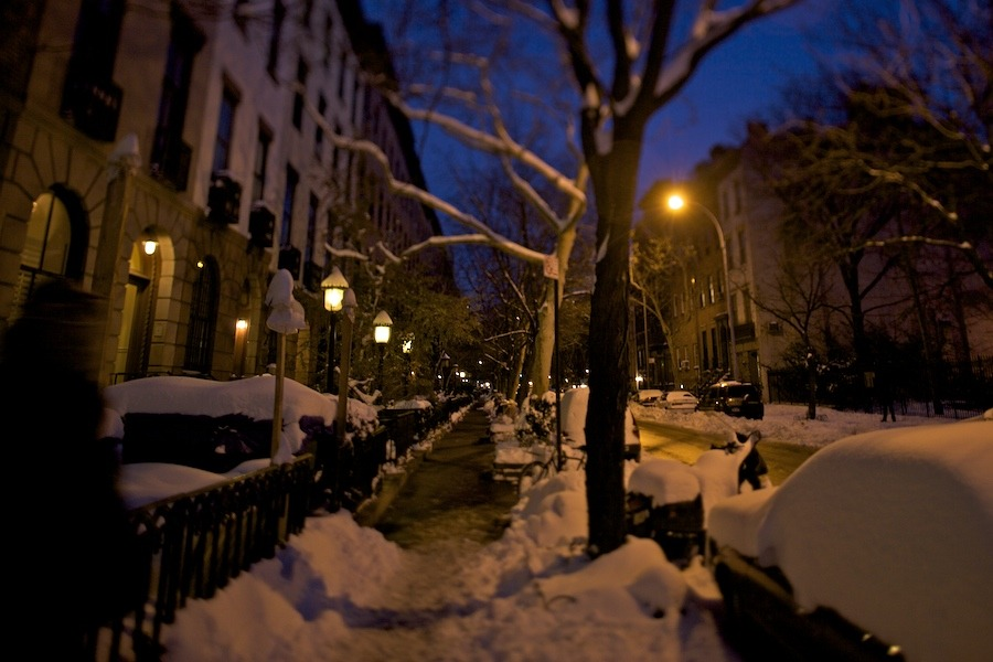 New York City After Snow