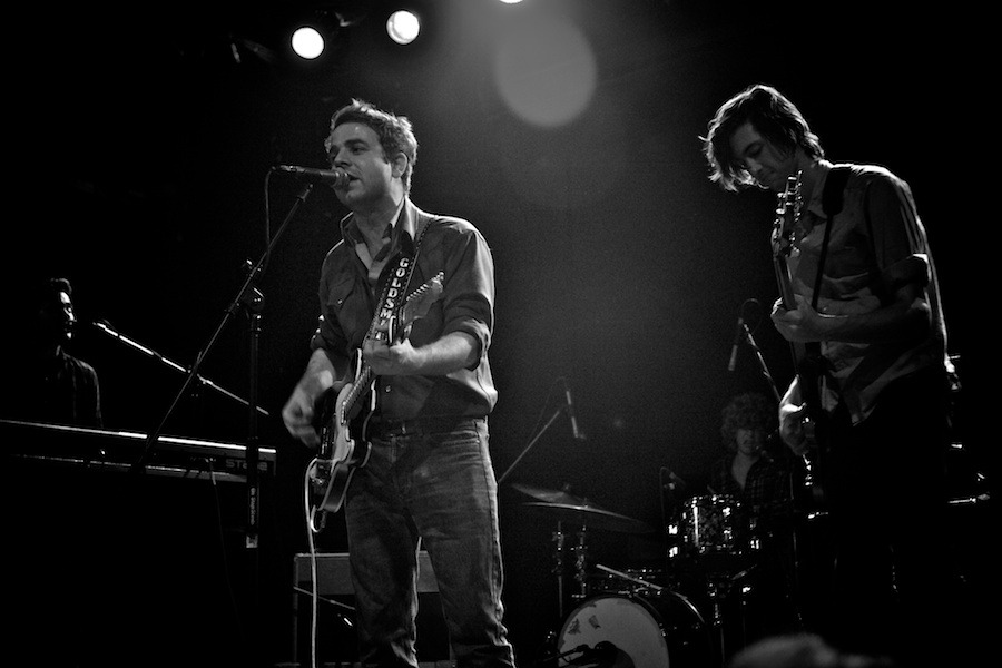 Dawes Live in New York City Bowery Ballroom - Photos © Gregg Greenwood
