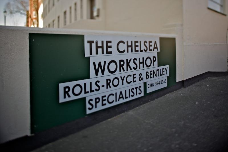 London Rolls Workshop © photo Gregg Greenwood