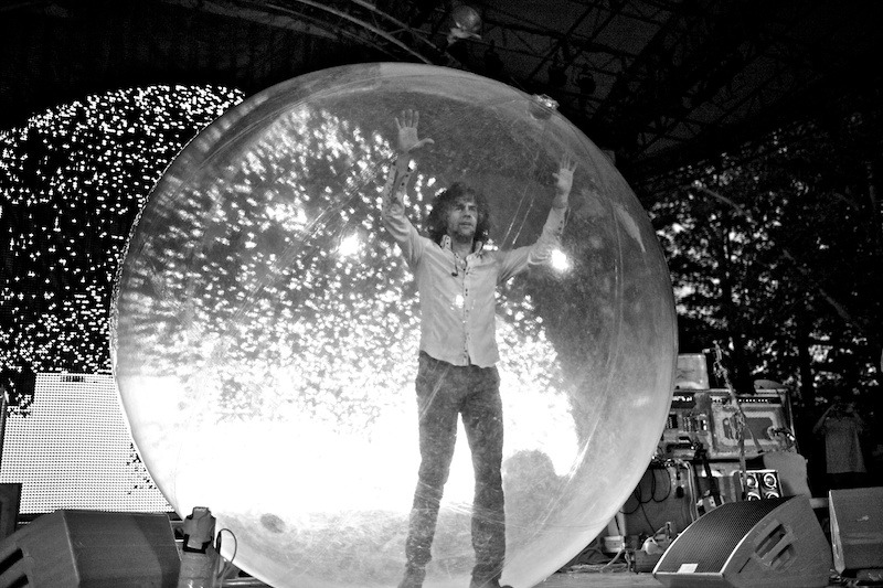 flaming-lips-summerstage-6 The Flaming Lips wayne coyne the flaming lips summerstage