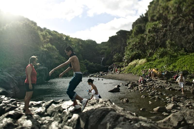Sacred Pools - Hana - Maui