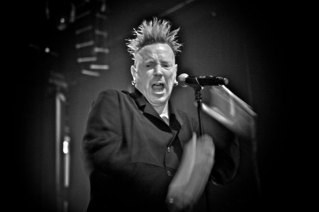 PiL - John Lydon - live in new york - photos © Gregg Greenwood