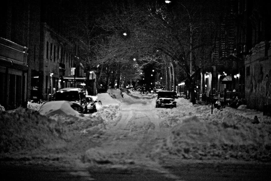 New York City - East Village Snow - photo © Gregg Greenwood