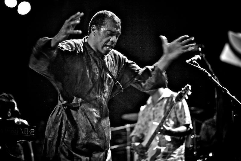 femi-kuti-Gregg-Greenwood-bw-4 Femi Kuti music hall of williamsburg Femi Kuti bowery presents