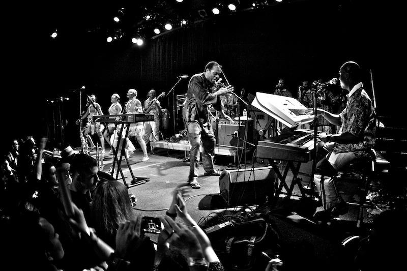 femi-kuti-Gregg-Greenwood-bw-8 Femi Kuti music hall of williamsburg Femi Kuti bowery presents