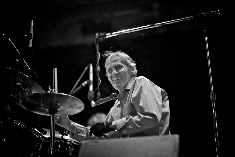 levon-helm-gregg-greenwood-1 Levon Helm Live in Central Park NYC summerstage Levon Helm Central Park bowery presents