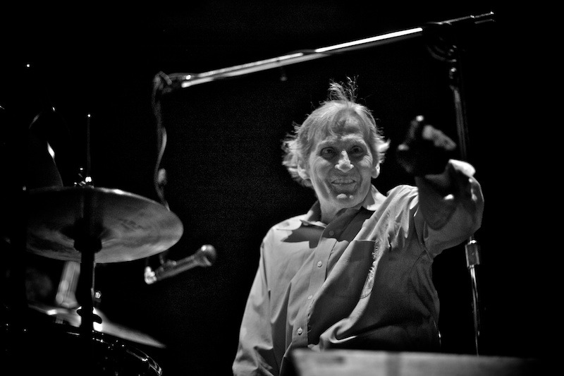 levon-helm-gregg-greenwood-8 Levon Helm Live in Central Park NYC summerstage Levon Helm Central Park bowery presents