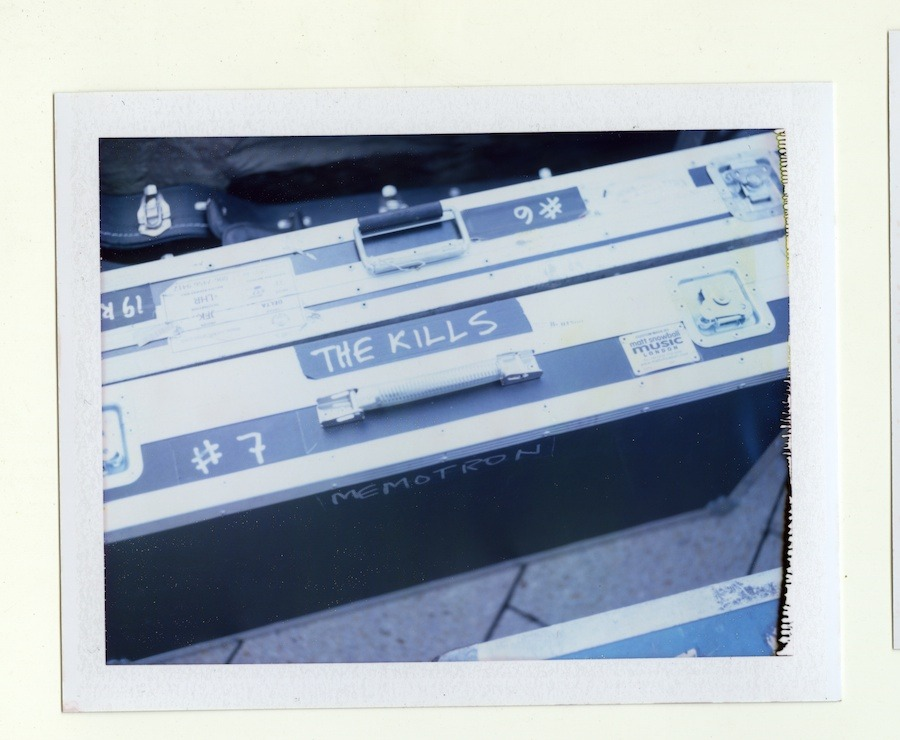the-kills-pola-gregg-greenwood-5 The Kills Polaroids the kills polaroids polaroid jamie hince alison mosshart