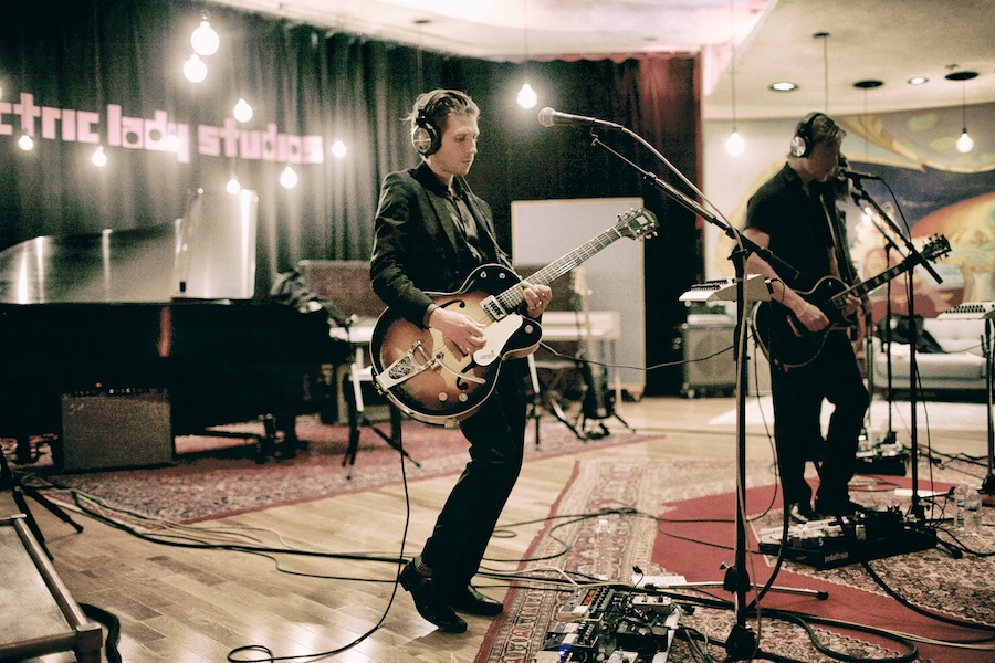 interpol-gregg-greenwood-3 Interpol at Electric Lady Studios NYC spotify recording studio interpol electric lady studios