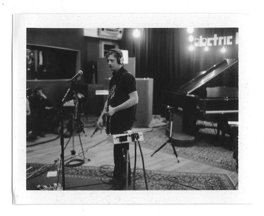 interpol-pola-gregg-greenwood-1 Interpol at Electric Ladyland Polaroids spotify recording studio interpol