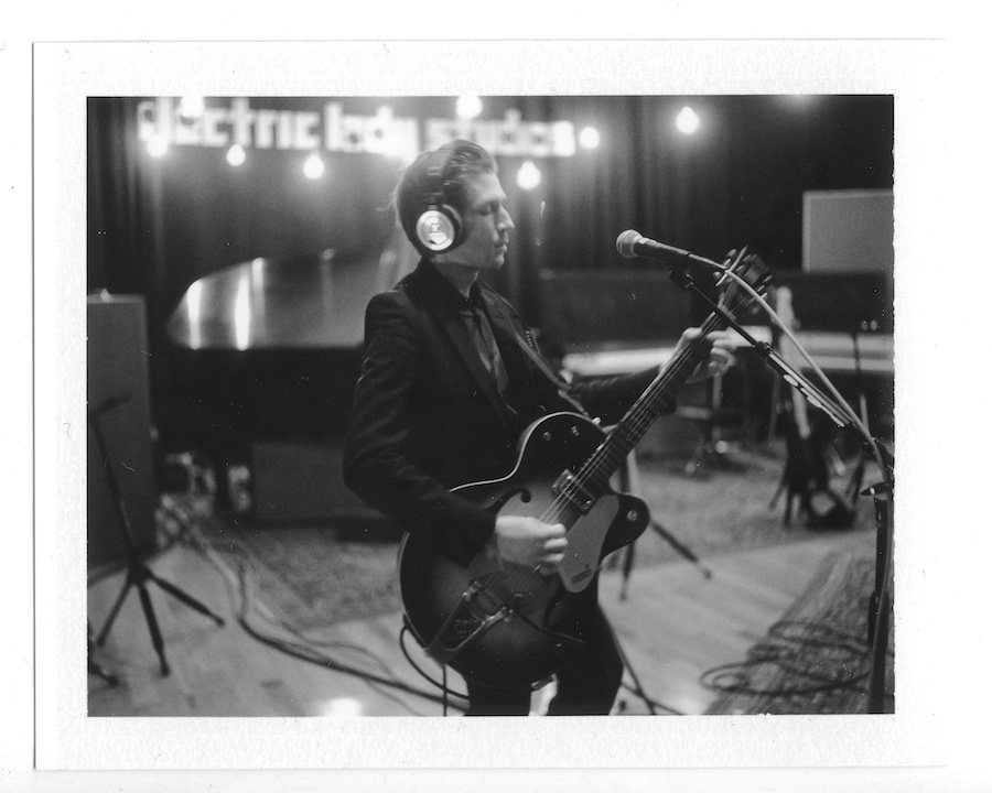interpol-pola-gregg-greenwood-2 Interpol at Electric Ladyland Polaroids spotify recording studio interpol