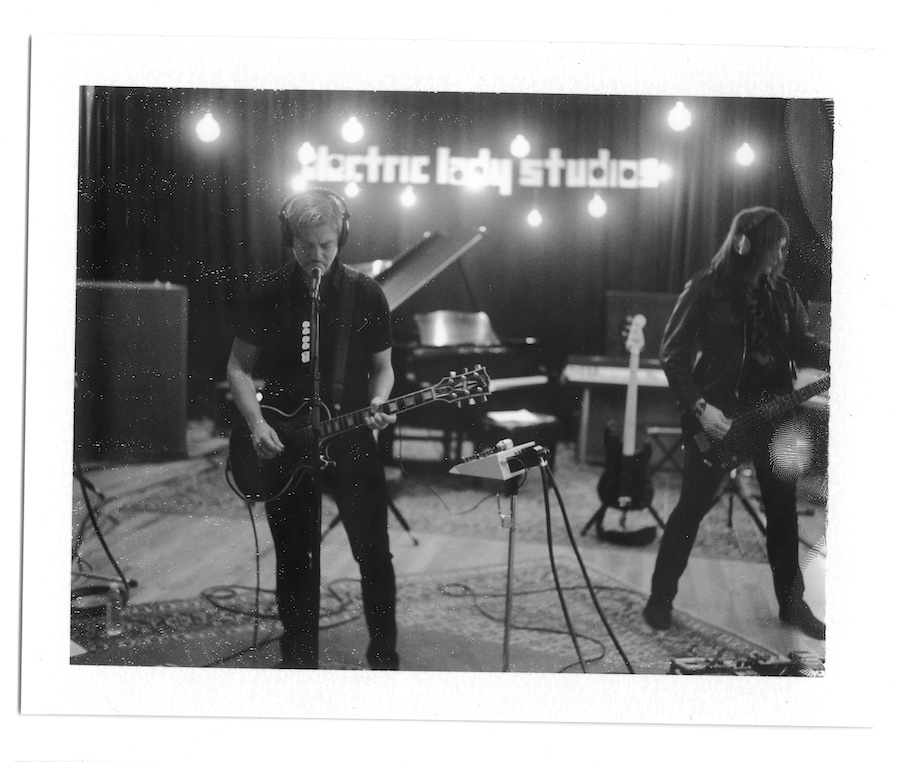 interpol-pola-gregg-greenwood-3 Interpol at Electric Ladyland Polaroids spotify recording studio interpol