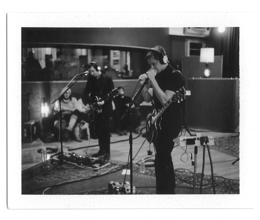 interpol-pola-gregg-greenwood-4 Interpol at Electric Ladyland Polaroids spotify recording studio interpol