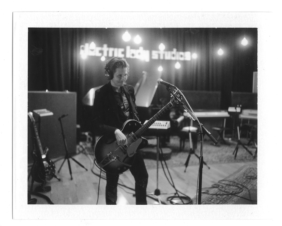 interpol-pola-gregg-greenwood-5 Interpol at Electric Ladyland Polaroids spotify recording studio interpol