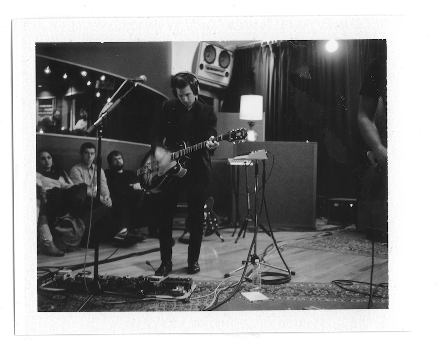 interpol-pola-gregg-greenwood-6 Interpol at Electric Ladyland Polaroids spotify recording studio interpol
