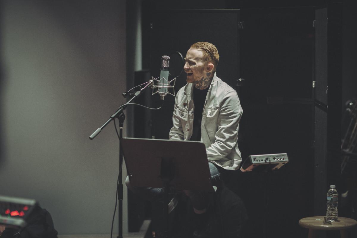 IMG_1813 Frank Carter spotify singles spotify recording studio frank carter