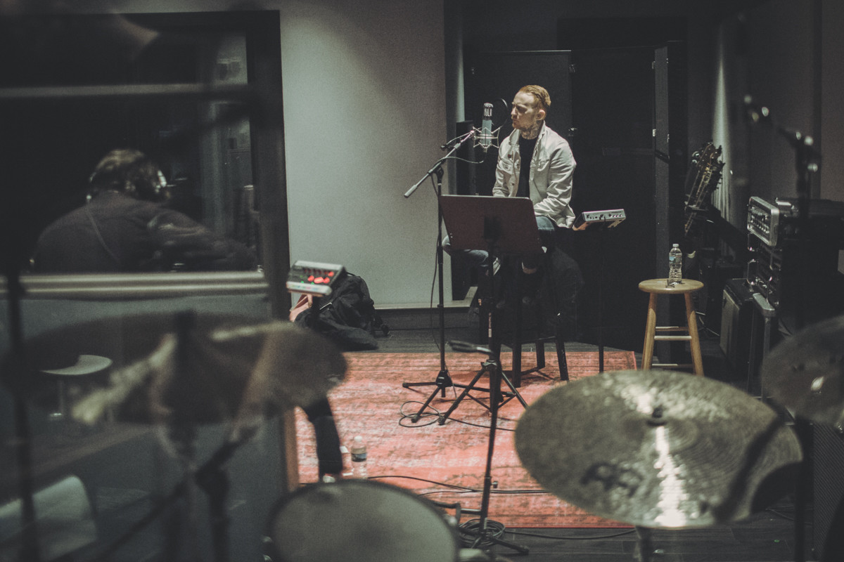 IMG_1827 Frank Carter spotify singles spotify recording studio frank carter