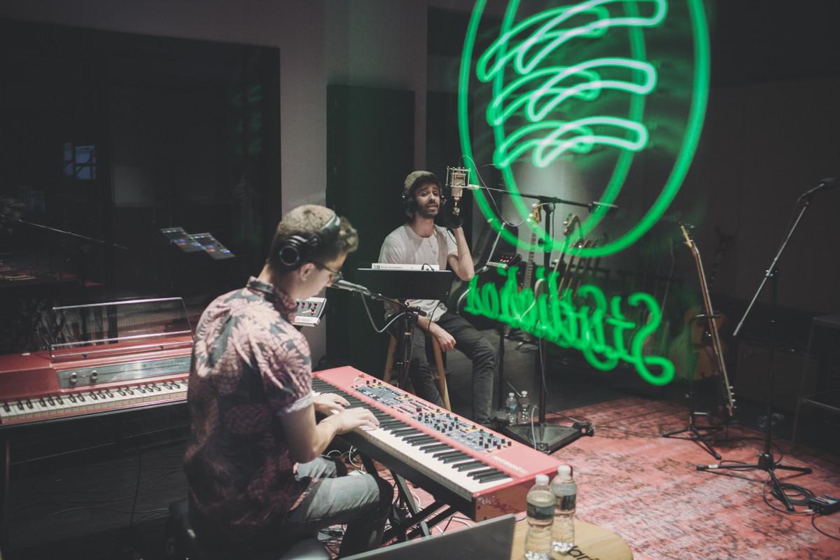 IMG_4674 AJR spotify singles spotify recording studio AJR