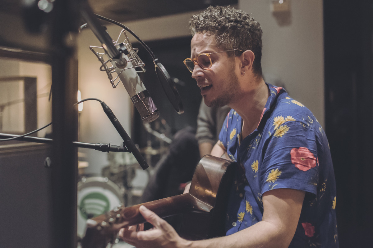 IMG_8839 Vicente García - Spotify Singles Vicente García spotify singles spotify recording studio