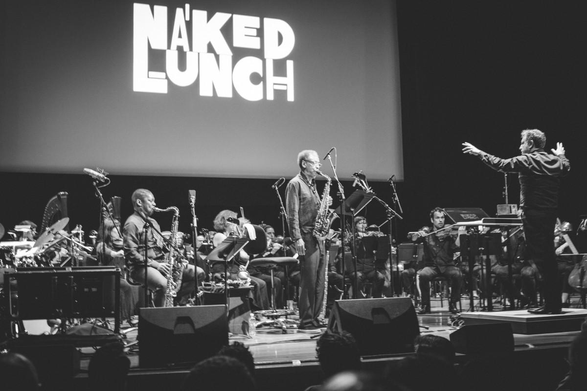 """IMG_6528 Ornette Coleman """"Naked Lunch"""" Celebration Ravi Coltrane ornette coleman henry threadgill elliot landy denardo coleman"""