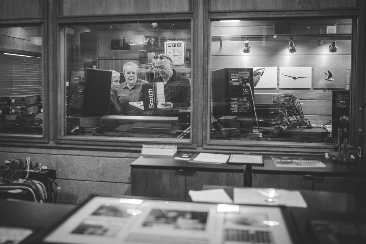 IMG_0051 John Coltrane Listening Event at Van Gelder Studios verve records van gelder studios universal music recording studio Ravi Coltrane john coltrane danny bennett