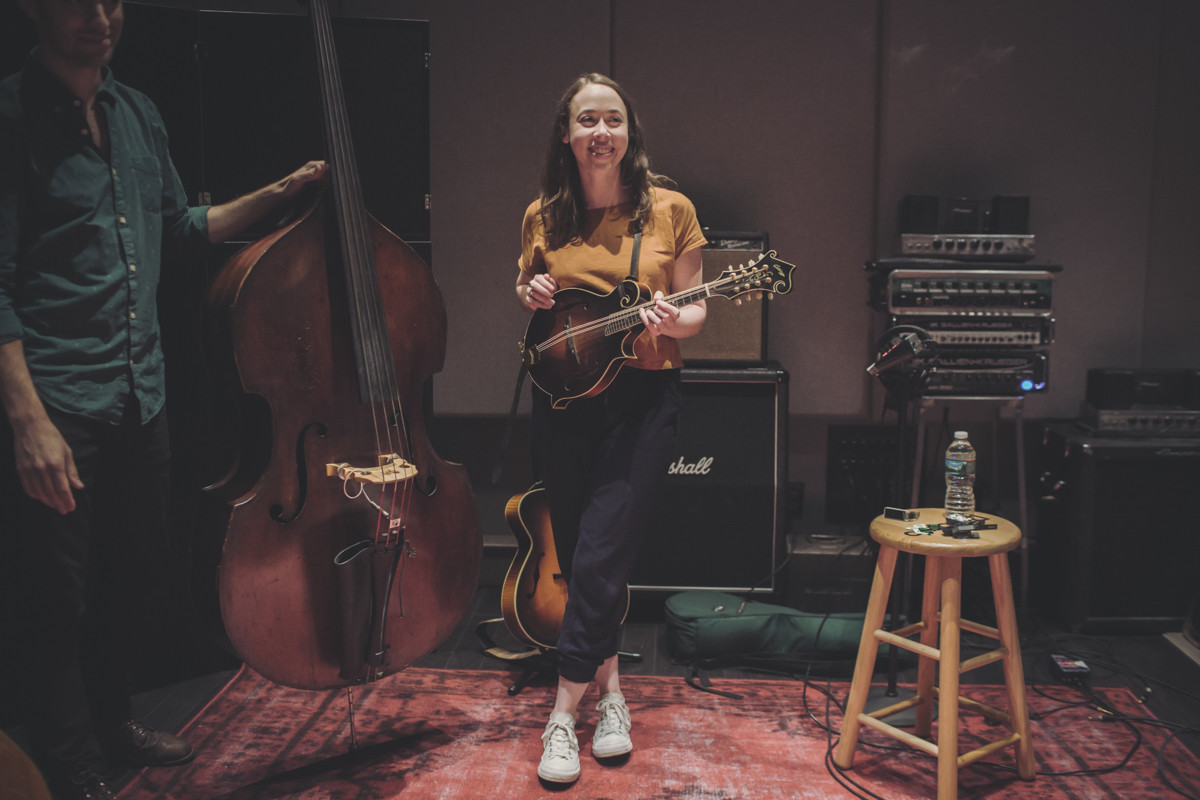 IMG_3966 Sarah Jarosz spotify singles spotify Sarah Jarosz recording studio