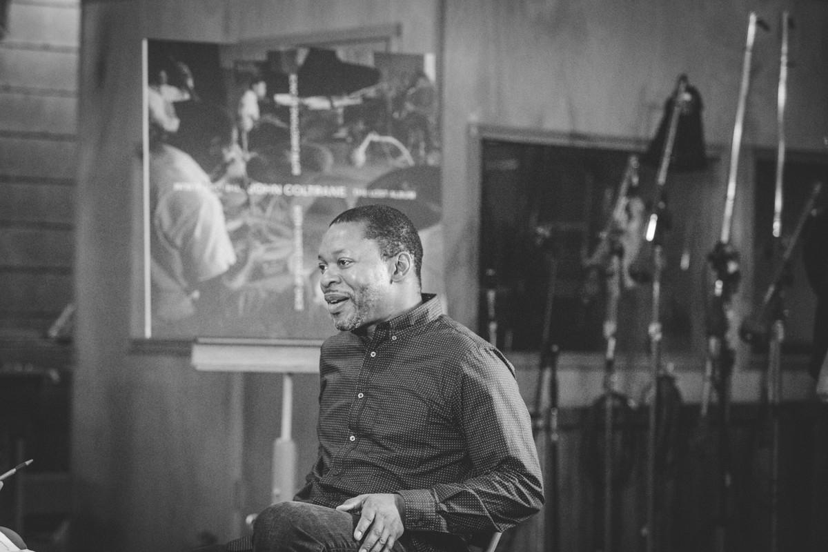 IMG_9065 John Coltrane Listening Event at Van Gelder Studios verve records van gelder studios universal music recording studio Ravi Coltrane john coltrane danny bennett